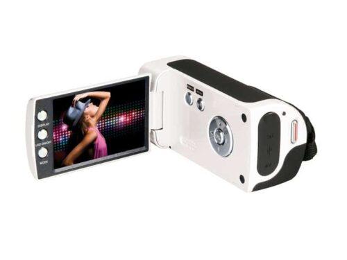 objet-publicitaire-pour-entreprise-camescope-numérique-blanc