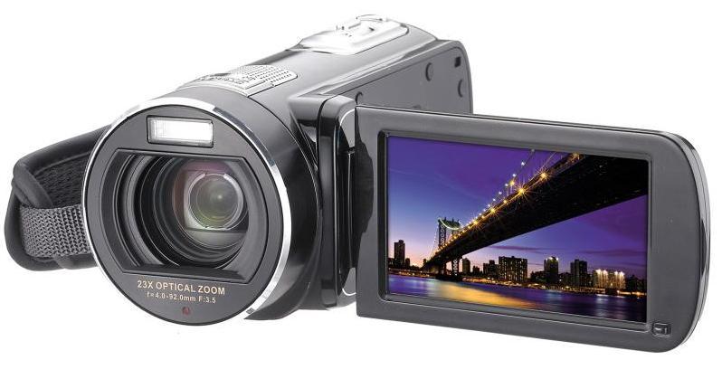 Camescope numérique noir discount