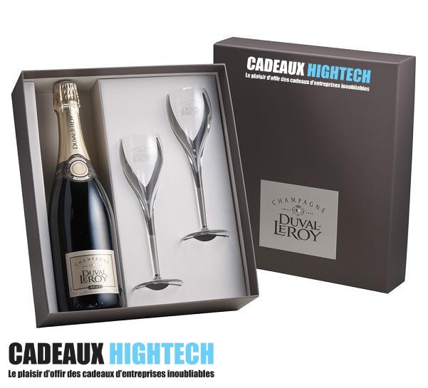 Coffret Champagne 2 coupes