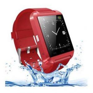 cadeaux-clients-montre-bluetooth-smartwatch-rouge