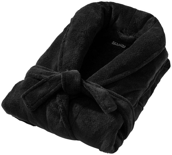 Peignoir Bain Bloomington Noir