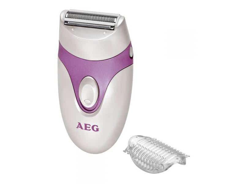 produit-publicitaire-epilateur-femme-aeg-violet