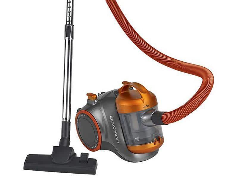 aspirateur-sans-sac-gris-et-orange