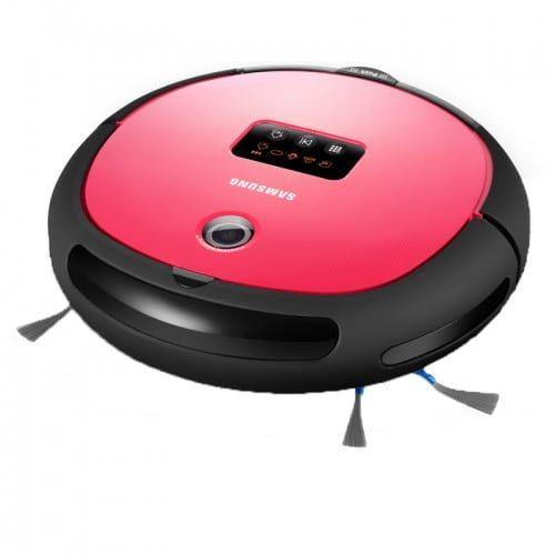cadeaux-comité-d-entreprise-aspirateur-robot-samsung-noir-et-rouge
