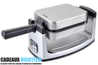 cadeau-high-tech-noel-gaufrier-zichef-semi-pro-metal-sur mesure