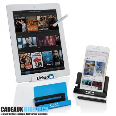cadeau-pour-entreprise-support-telephone-et-tablette-personnalise