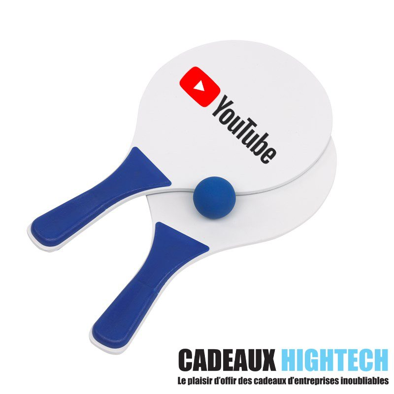 idee-cadeau-collegue-raquettes-de-plage-tendance-bleu-personnalise