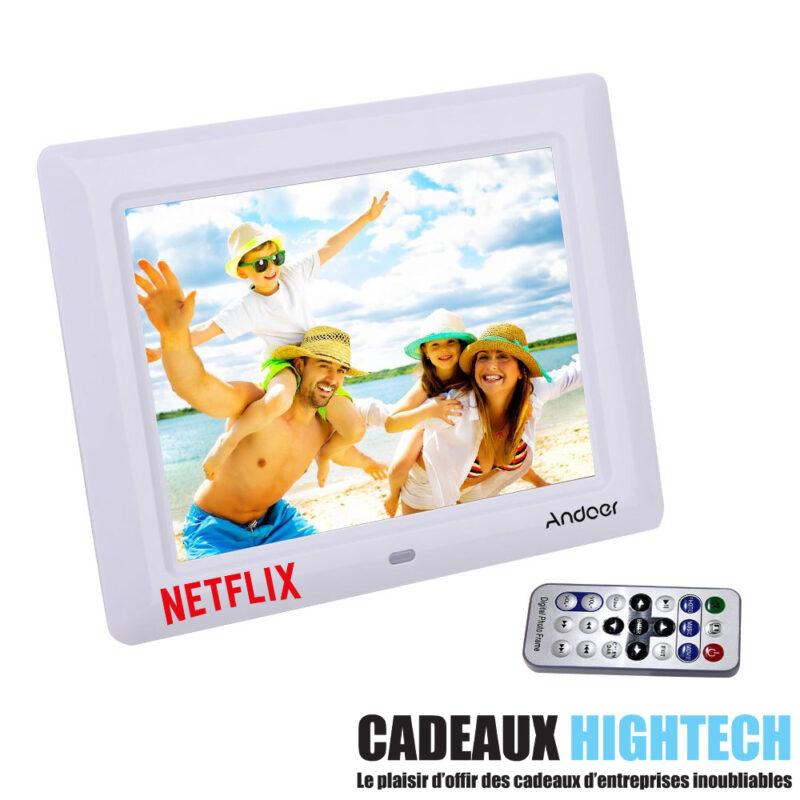 objet-high-tech-insolite-cadre-photo-7-pouces-blanc-avec-logo