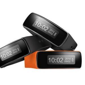Bracelet smart fitness noir design