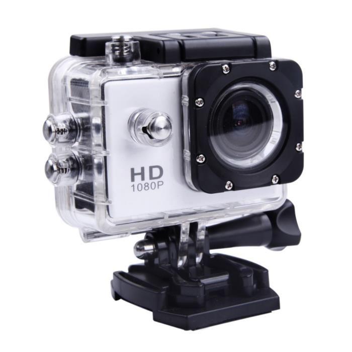 Magnifique caméra sport grise en goodies originaux
