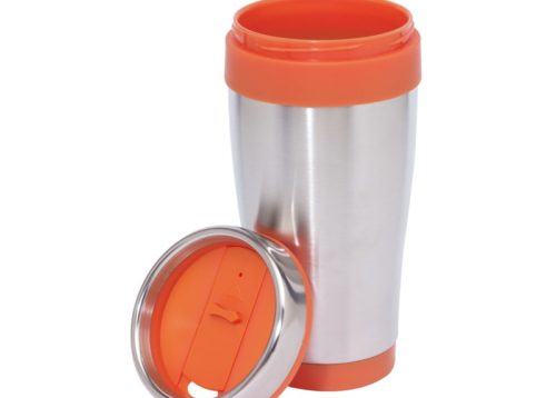 Mug isotherme orange