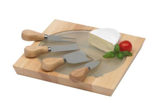 Set de couteaux à fromage bois