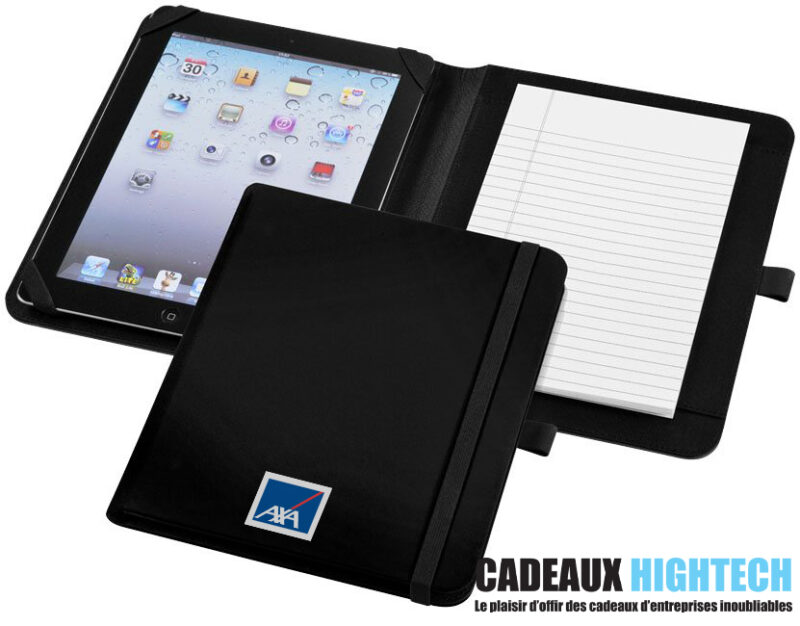 cadeau-d-entreprise-Conferencier-pour-tablette-Verve-noir-personnalise