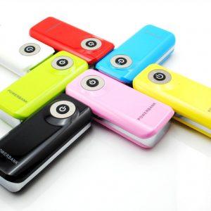 Cadeau d'entreprise chargeur mobile 5600mAh
