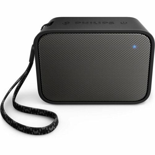 cadeau-client-entreprise-enceinte-bluetooth Philips noire