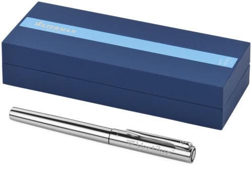 cadeaux-entreprise-publicitaire-stylo-bille-waterman-chrome