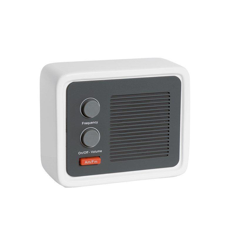 objet-publicitaire-entreprise-radio-design-grise-et-blanche