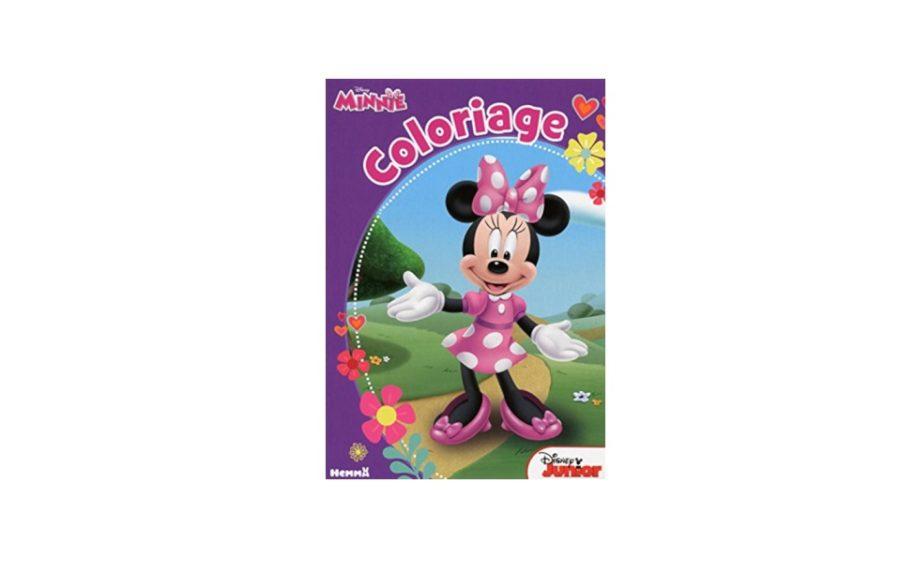 Cadeau ce livre de coloriage disney minnie - Livre de coloriage disney ...