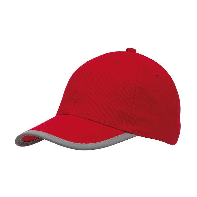 cadeau-client-casquette-6-segments-rouge
