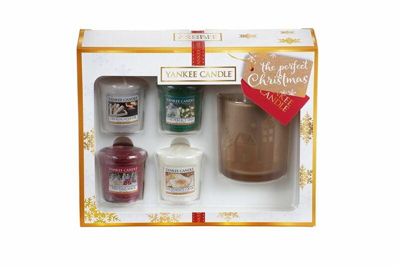 cadeau-collegue-coffret-yankee-candle-4-photophores