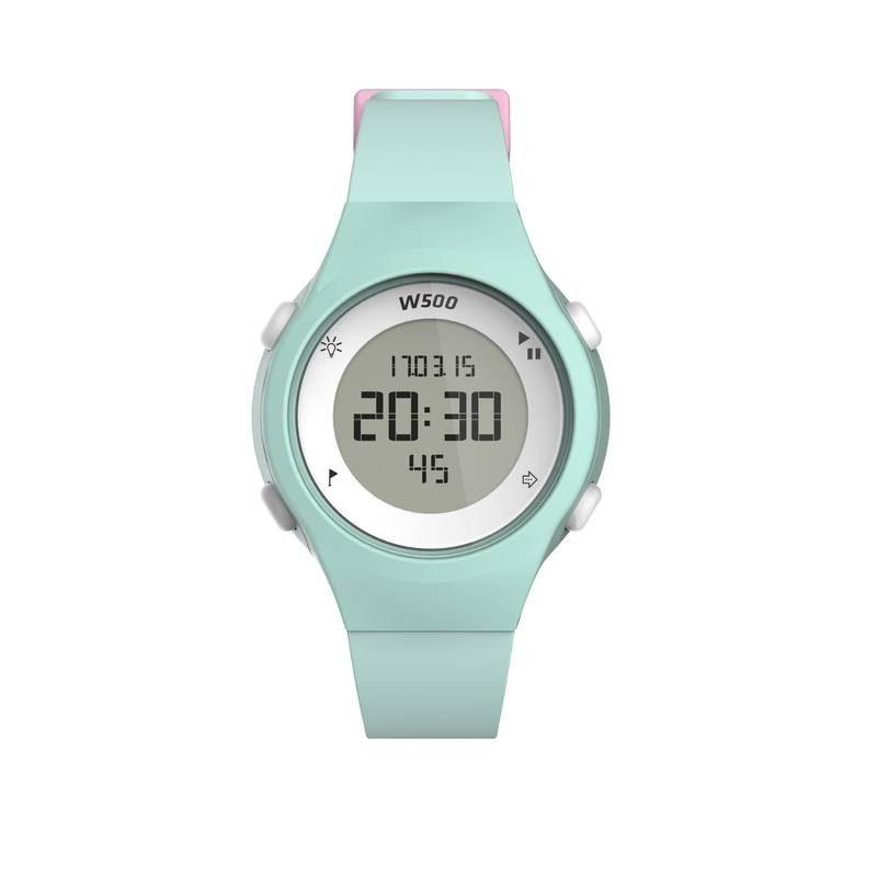 cadeau-collegue-montre-chronometre-vert-pastel