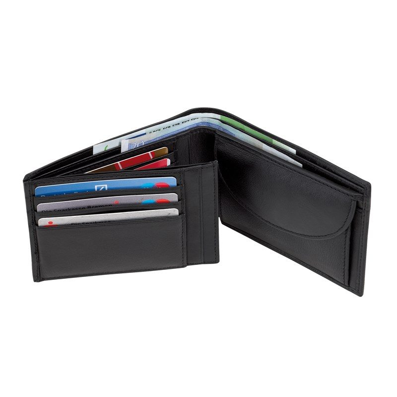 cadeau-collegue-portemonnaie-grands-compartiments-cuir-noir