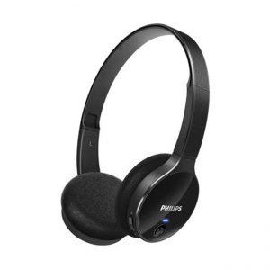 Casque audio Philips noir brillant