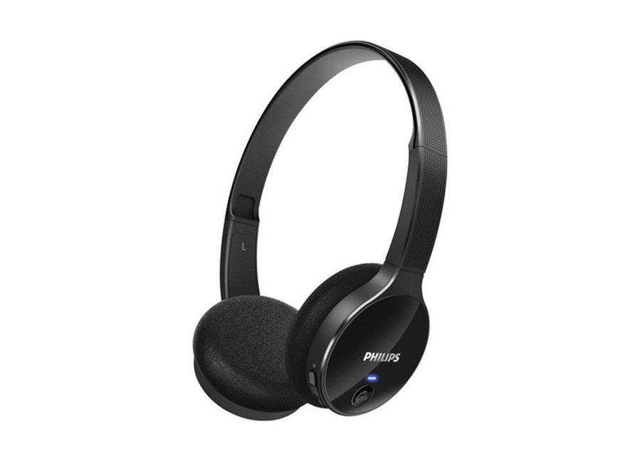Casque audio Philips noir brillant