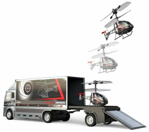 cadeau-d-affaire-helicoptere-et-camion-falcon-mission