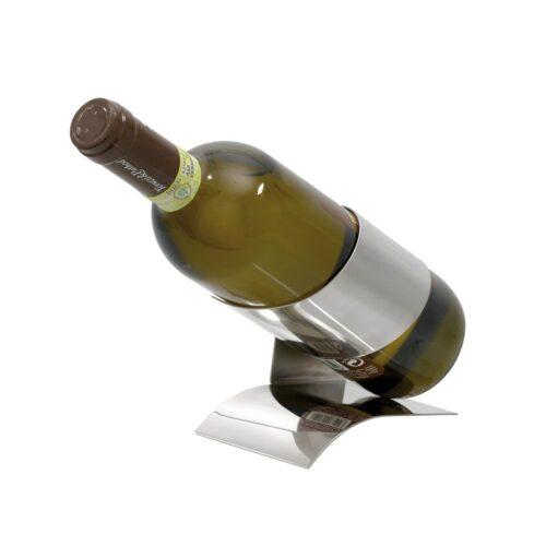 cadeau-d-affaires-personnalise-support-bouteille-de-vin-acier