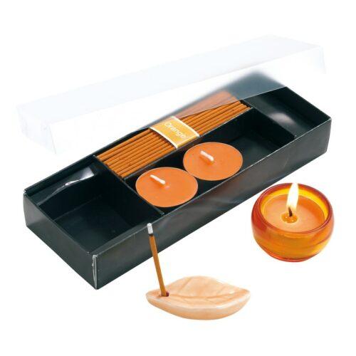 cadeau-entreprise-beaute-coffret-bougies-et-encens-orange
