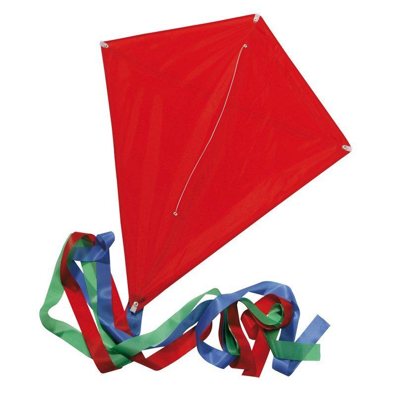 cadeau-entreprise-original-cerf-volant-rubans-toile-rouge