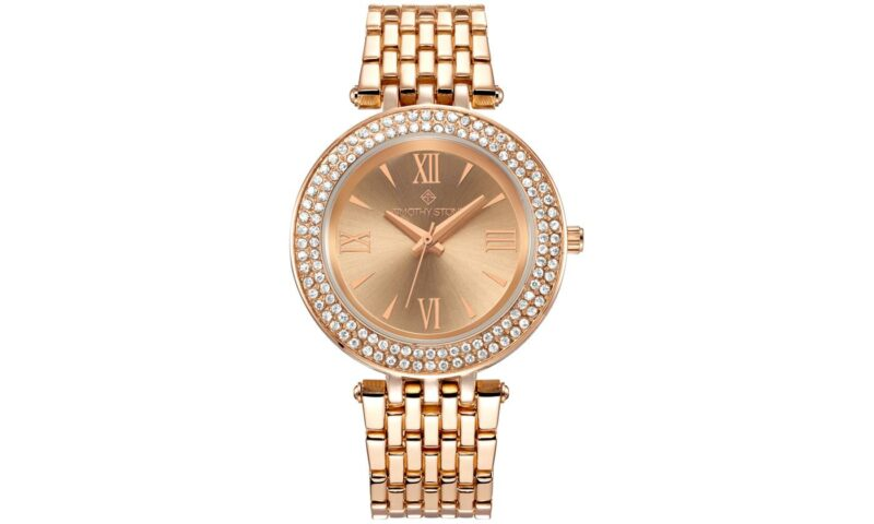 cadeau-entreprise-original-montre-or-rose