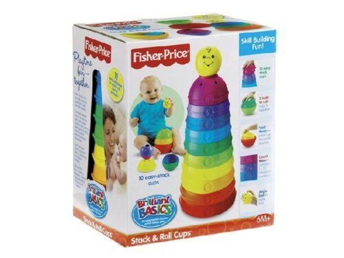 cadeau-entreprise-pas-cher-tasses-fisher-price-empilo-couleurs