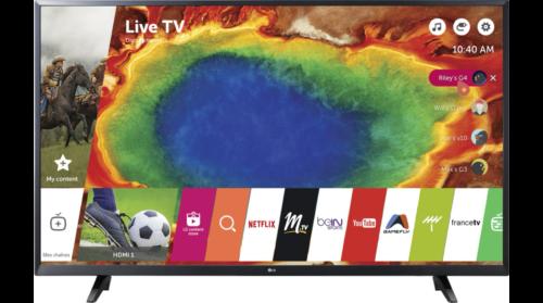 cadeau-logo-entreprise-tv-led-lg-43uj620v
