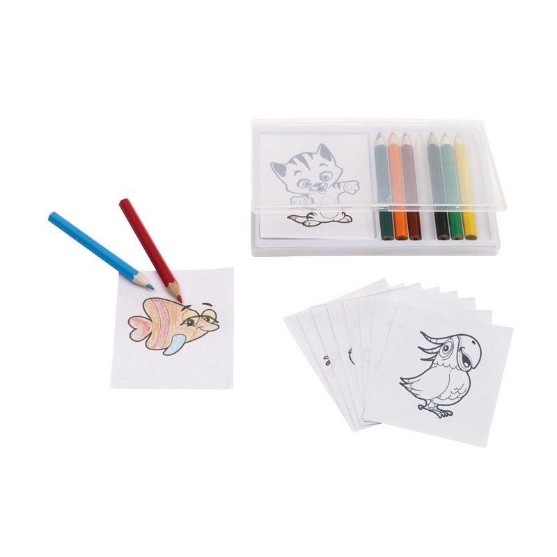 cadeau-personnel-entreprise-set-de-coloriage-animaux-crayons