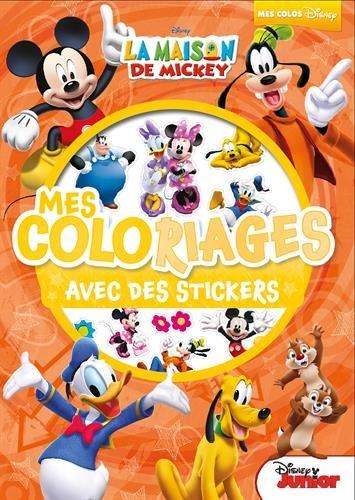 Livre De Coloriage Mickey Stickers