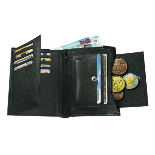 cadeau-publicitaire-portefeuille-bouton-pression-cuir-noir