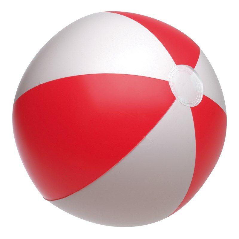 cadeaux-clients-fin-d-annee-pas-cher-ballon-de-plage-gonflable-rouge