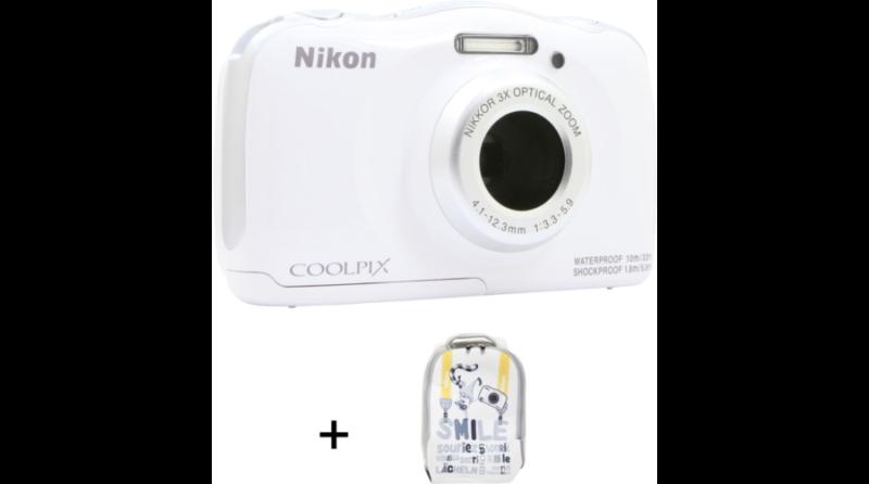 cadeaux-entreprise-fin-d-annee-appareil-photo-nikon-coolpix-blanc