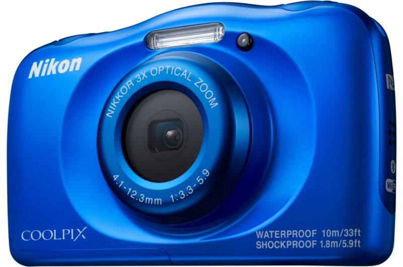cadeaux-entreprise-fin-d-annee-appareil-photo-nikon-coolpix-bleu