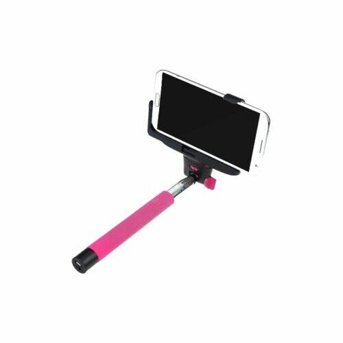 cadeaux-entreprise-perche-telescopique-selfie-rose