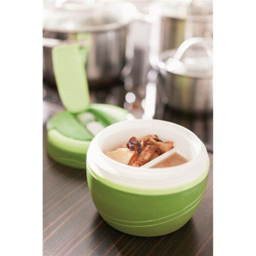 goodies-entreprise-boite-isotherme-2-compartiments-vert