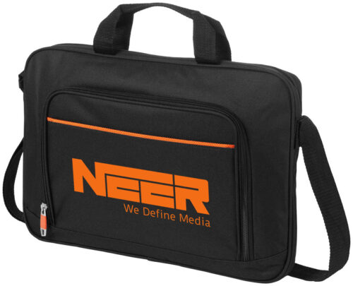 goodies-high-tech-personnalise-sacoche-pc-noire-et-orange