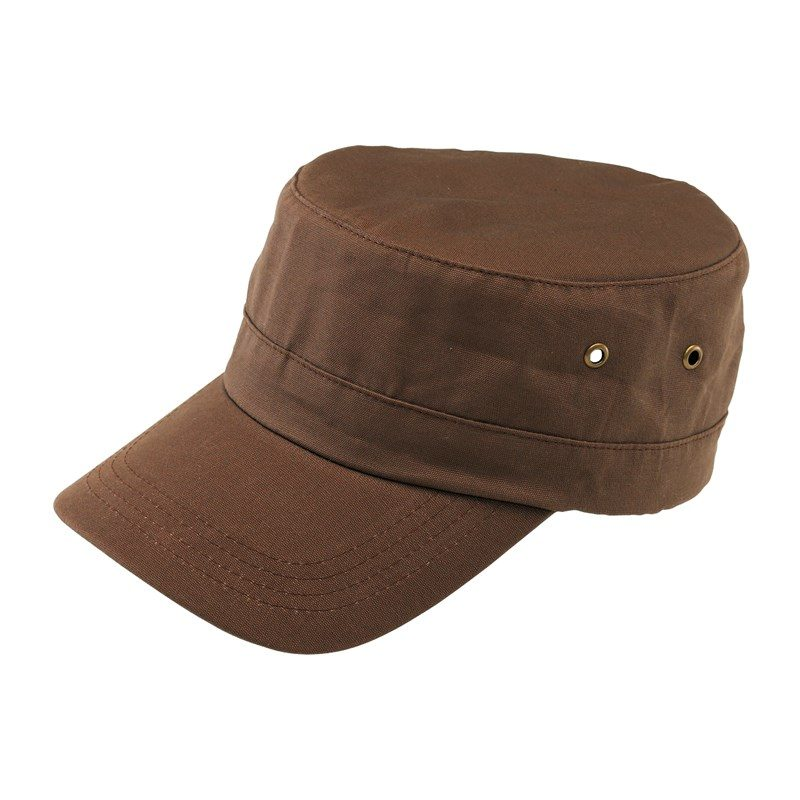 goodies-original-casquette-militaire-4-segments-marron