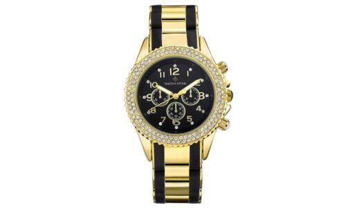 idee-cadeau-client-original-montre-acier-cristaux