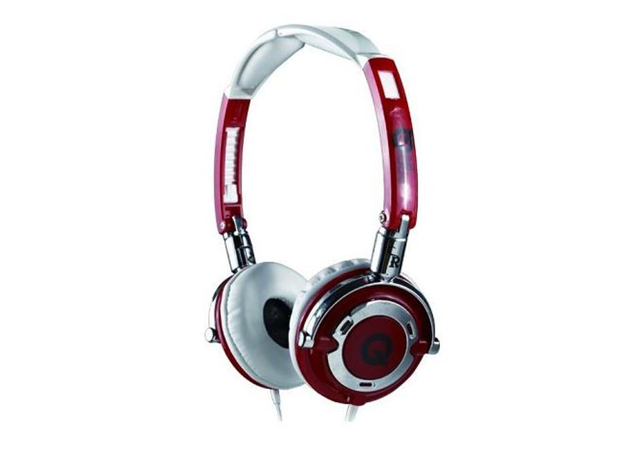 Casque audio design rouge et blanc le cadeau ce - Porte casque audio ...
