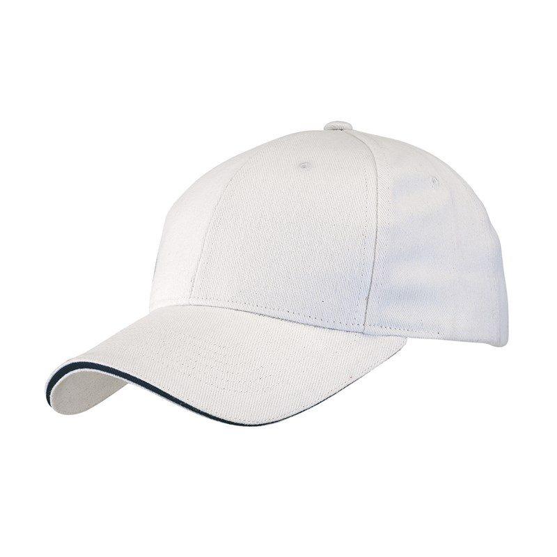 objet-publicitaire-casquette-6-segments-blanc