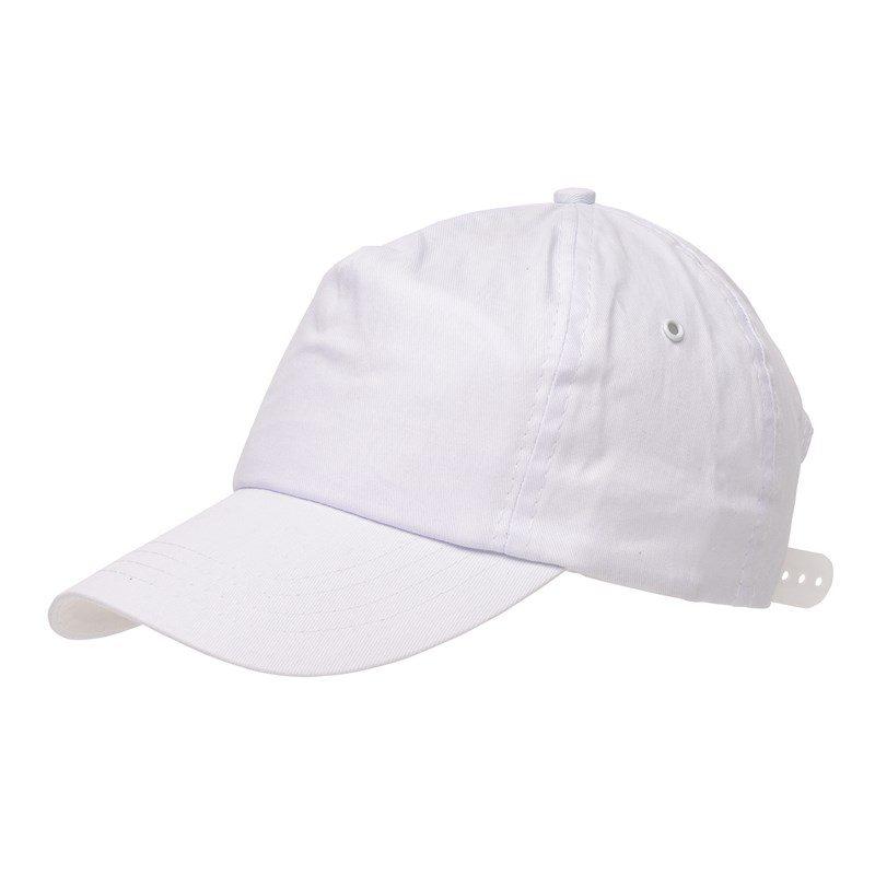 objet-publicitaire-casquette-baseball-blanc