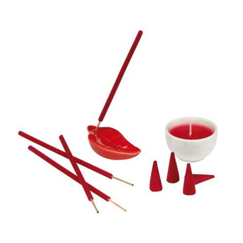 objet-publicitaire-coffret-bougies-et-encens-fraise